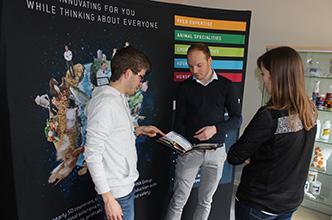 forum emploi rencontre etudiants avec le groupe techna